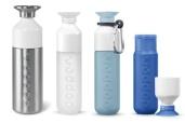 Steel (800/490 ml) or BPA free (450 ml)